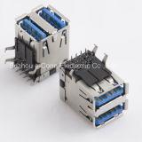 Pila de alta velocidad USB3.0 y Verical Rig Anle conector