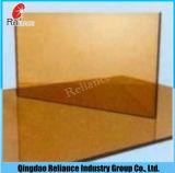 glace r3fléchissante r3fléchissante en bronze de 5mm Glass/6mm pour la construction