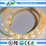 Luz de tira flexible blanca de la venta caliente LED de la fábrica (LM2835-WN60-W-12V)