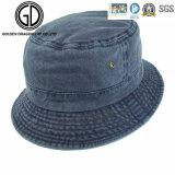 Chapéu da cubeta do pescador da sarja de Nimes da Quente-Venda da qualidade superior com logotipo feito sob encomenda