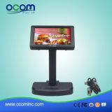 De alfanumerieke POS LCD Pool Vertoning van de Klant voor de Opslag van het Snelle Voedsel