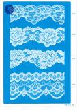 Laço de Tricot para a roupa/vestuário/sapatas/saco/caso 3260 (largura: 7cm)