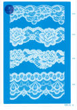 Het Kant van het tricot voor Kleding/Kledingstuk/Schoenen/Zak/Geval 3260 (Breedte: 7cm)