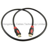 Cable de alta velocidad de Ethernet HDMI 2.0V 1.4V del Doble-Color