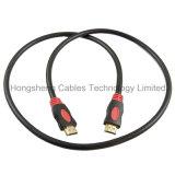 Cavo ad alta velocità di Ethernet HDMI 2.0V 1.4V di Doppio-Colore
