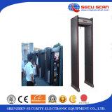 Uso al aire libre Paseo a través de detector de metales AT-300A para verificación de seguridad detector de metales puerta