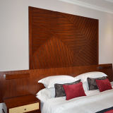 Meubilair van de Slaapkamer van het Hotel van de Toevlucht van de Gastvrijheid van de teak het Houten Vijfsterren