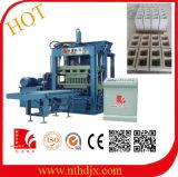 Pressão hidráulica contínua e bloco oco que faz a máquina