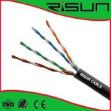 Câble LAN d'UTP 4pr 24AWG Cat5e