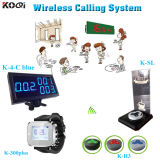 Nettes Design Wireless Calling Number System mit Display, Watch, Button