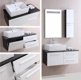 プラスチックPVC浴室の洗面器のキャビネット(B-8100)
