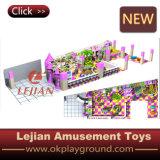 Campo de jogos macio interno das crianças comerciais (T1506-3)
