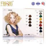 Tableau d'ombre de cheveux de 54 couleurs