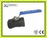 Il PC della fabbrica 1 della Cina ha avvitato la valvola a sfera dell'estremità con la chiusura dell'unità a chiave