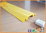 1000*245*45mm Reflective Plastic PVC 2 Channel Cable Protector Ramp