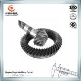 Turning를 가진 CNC Machining Bevel Gear Customized Steel Gear
