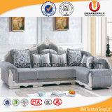 Sofá moderno de la tela del estilo de la manera de los muebles americanos de la sala de estar (UL-Y511A)