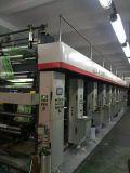 La alta calidad utilizó la máquina de la impresión en color 8 para la película plástica en venta