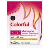 Uso de casa Natural Black Colorido Shampoo Hair Color cosmético