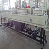 PE van het polyethyleen de Machine van de Uitdrijving van de Buis van de Pijp voor Vloeistof vervoert