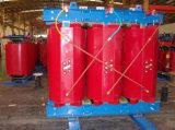 Transformador seco de la distribución de la fase del tipo tres de la resina del molde