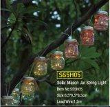 Indicatore luminoso solare della stringa del vaso di muratore - Ss5h05