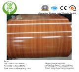 Prepainted стальная катушка для деревянного цвета