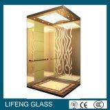 청동 또는 금 샤워 스크린을%s 장식적인 벽면 사려깊은 입히는 유리