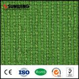 Césped sintetizado natural del verde de la decoración del jardín usado con precio competitivo