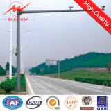 Q345 4m/6m Galvanized Traffic Light Pole Signal Customization Available