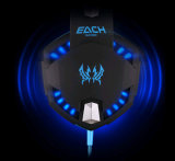 LED Noice Cancelling를 가진 본래 G2100 Hifi Stereo Wired Gaming Headphone