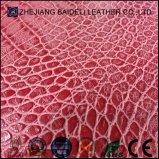 Cuoio di pattini di cuoio sintetico delle borse dell'unità di elaborazione di vendita di modo del grano caldo del coccodrillo