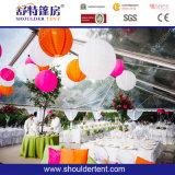 barraca do partido de 50m para o evento com decoração/tabela/cadeira/iluminação