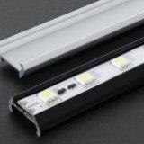 J6063 LED Streifen-Licht-Profil-linearer Aluminiumprofil-Kanal