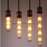 유일한 창조적인 디자인 장식적인 전구는 노란 2200K 3W를 데운다