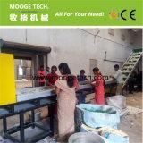 Lavagem de frasco plástica do ANIMAL DE ESTIMAÇÃO a rendimento elevado que recicl a máquina