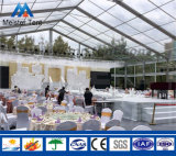 4 Jahreszeit-Gebrauch grosses transparentes Belüftung-Hochzeits-Festzelt-Luxuxzelt