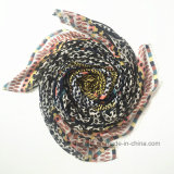 Neue Ansammlungs-weicher gedruckter Form-Schal in der 100% Viskose (HM096)