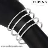 51620 Xuping Form-einfacher Rhodium überzogenes Schmucksache-geöffnetes Armband