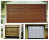Puerta lujosa de madera Hf-168 del garage