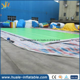 Pista de raza saltona del aire inflable de la gimnasia de la alta calidad para la venta