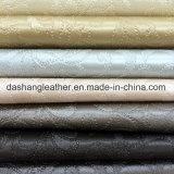 Le meilleur cuir artificiel de vente de PVC de type classique pour décoratif à la maison