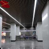 Sistema de alumínio do teto do defletor da canaleta retangular da U-Forma
