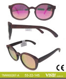 Neuer Entwurfs-hölzerne handgemachte Sonnenbrillen mit Cer und FDA (267-B)