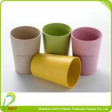 Abbaubares grünes und gesundes Plastikbiocup