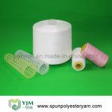 30/3 hilo de coser hecho girar de los hilados de polyester