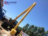 Caterpillr Cat326D2lの水陸両用掘削機の17.5mのための長い範囲ブーム