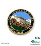 Zink-Legierungs-Silber-Andenken-Münze für Förderung (HST-CS-002) anpassen