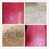 Macchina di goffratura ad alta frequenza pneumatica poco costosa di marchio per saldatura di plastica di cuoio