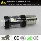 phare automatique de lampe de regain de la lumière DEL de véhicule de 12V 30W DEL avec 1156/1157, T20, faisceau léger de Xbd de CREE du plot H1/H3/H4/H7/H8/H9/H10/H11/H16